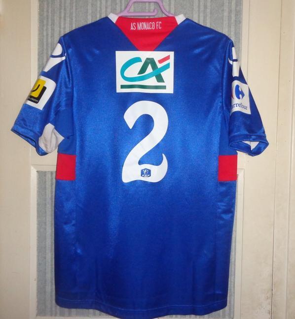Maillot porté en coupe de France en 2011-2012