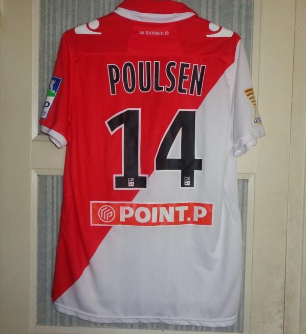 Maillot porté en coupe de la ligue 2012-2013