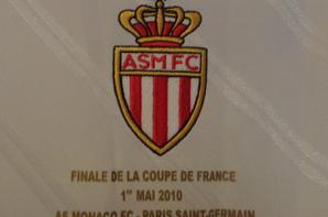 Maillot préparé pour la finale de la coupe de France 2010