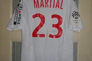 Maillot porté en championnat 2013-2014