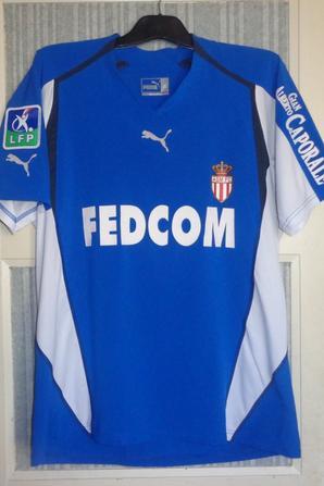 Maillot porté en championnat 2004-2005