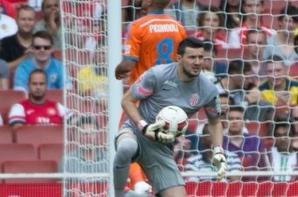 Maillot du 3ème gardien de Monaco porté lors de L'Emirates Cup