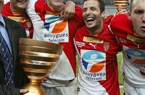 Maillot Monaco Finale coupe de la ligue 2002-2003