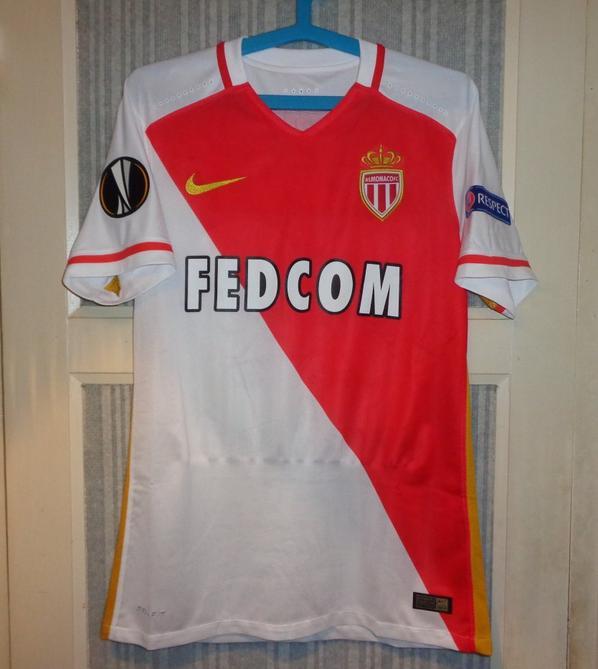Maillot Monaco domicile Europa League 2015-2016