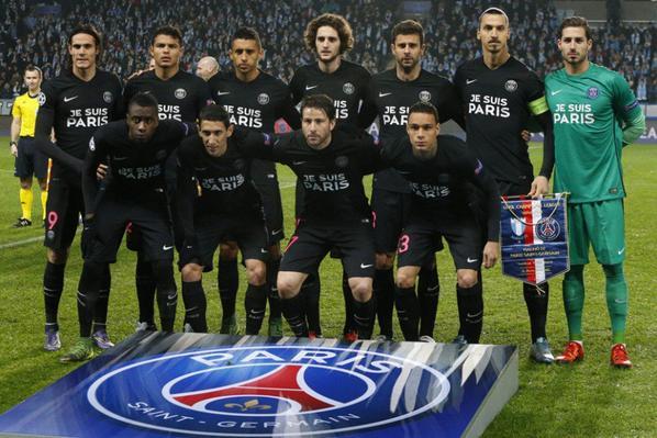 """Maillot """"Hommage"""" Paris Saint Germain UEFA Champion's League 2015-2016"""