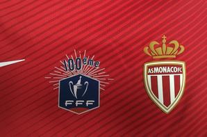 Maillot domicile 100 ème coupe de France 2017- 1/16 ème finale