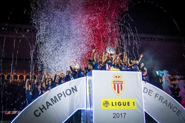 Champion de France Ligue 1 2017 : AS Monaco FC
