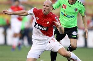 Maillot domicile saison 2006-2007 floqué BERNARDI (de face)
