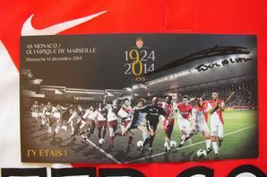"""Ensemble maillot, programme, billet de match et coupon """"J'y étais ! """" édition spéciale 90 ans du club"""