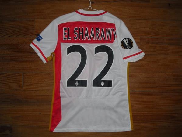 Maillot domicile saison 2015-2016 floqué EL SHAARAWY (de dos)