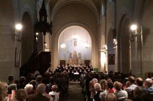 Magnifique concert ce soir à Hédé !