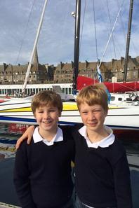 Détente à St Malo...visite des bateaux de la route du Rhum