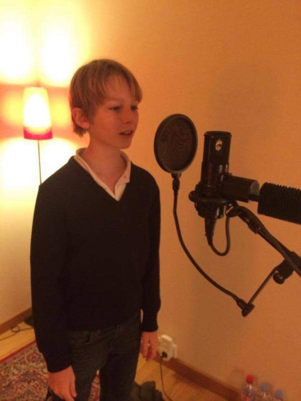 En studio...à suivre!