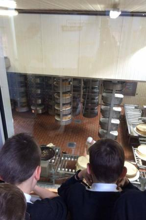 Visite de la fromagerie à Beaufort en photos (2/3)