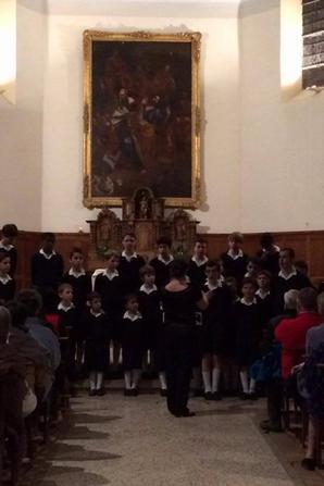 Concert à Chorges en 2015