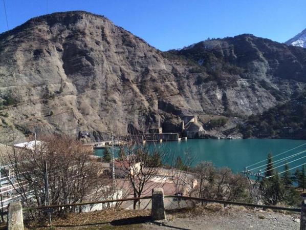 Visite du barrage de Serre-Ponçon (le site)