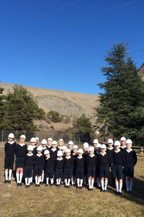 Visite du barrage de Serre-Ponçon