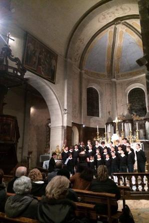 Concert à Tallard le 21 février 2015 en photos (1/2)