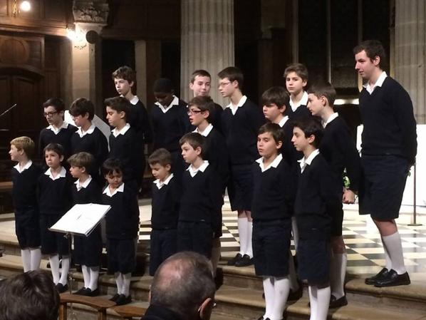 Concert de Noël des PCDF à St Médard