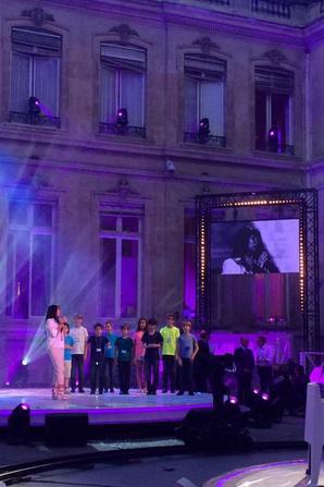 En répétition pour France 2