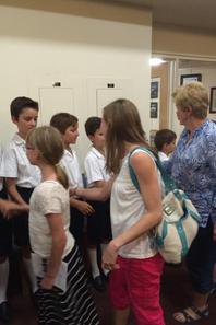Merci au Pasteur Sarah Dorrance pour son accueil dans sa paroisse ! (2/3)