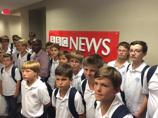 ...puis la BBC!