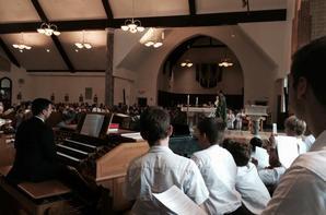 Messe à St Jane Frances de Chantal Church