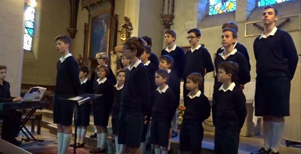 Les Petits Chanteurs de France à Soisy-Sur-Seine 11/10/2015 en images