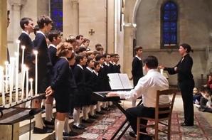 Eglise pleine à Maisons-Laffite, un immense merci à monsieur et madame de Peyrelongue pour cette magnifique organisation