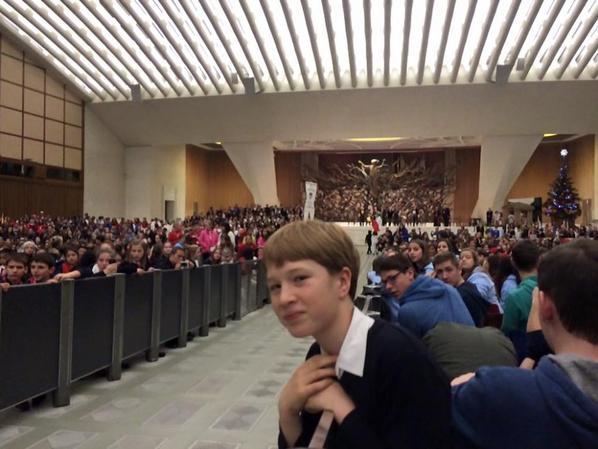Cérémonie d'ouverture salle Paul VI