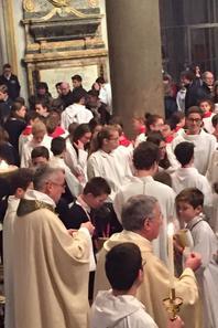 Messe des Français ce matin