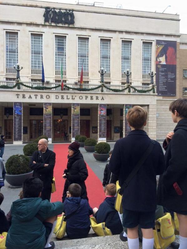 Visite de l'opéra de Rome (2/2)