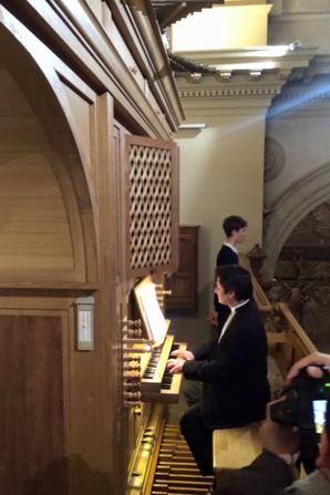 Concert d'inauguration de l'orgue de l'église St Pierre d'Auriol