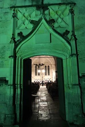 Hier soir à Courmemin, du côté de Blois