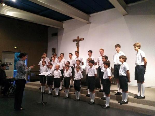 Dernier concert de l'été pour les Petits Chanteurs de France ; hier soir à Joigny