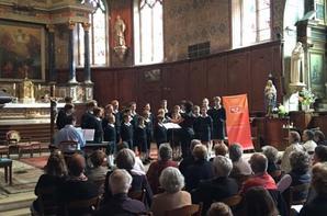 Magnifique concert à Belleme dans l'Orne cet après-midi