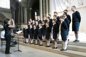 Quelques photos de notre concert à Saint Germain des Près (3/3)