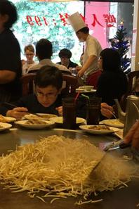 Après un déjeuner aussi beau à voir qu'à manger ....nous voici à Hsinchu (2/2)