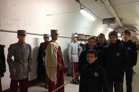 Un cours d'histoire sur le terrain à l'ouvrage du Hackenberg, Ligne Maginot pour les PCDF (2/2)