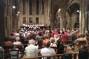 Eglise pleine à Lacapelle Marival hier soir pour le Concert
