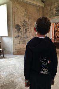 Visite du Château de LA CAPELLE-MERLIVAL avant de prendre la route pour AGEN (1/2)