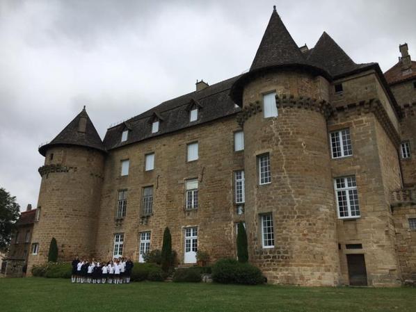 Visite du Château de LA CAPELLE-MERLIVAL avant de prendre la route pour AGEN (2/2)
