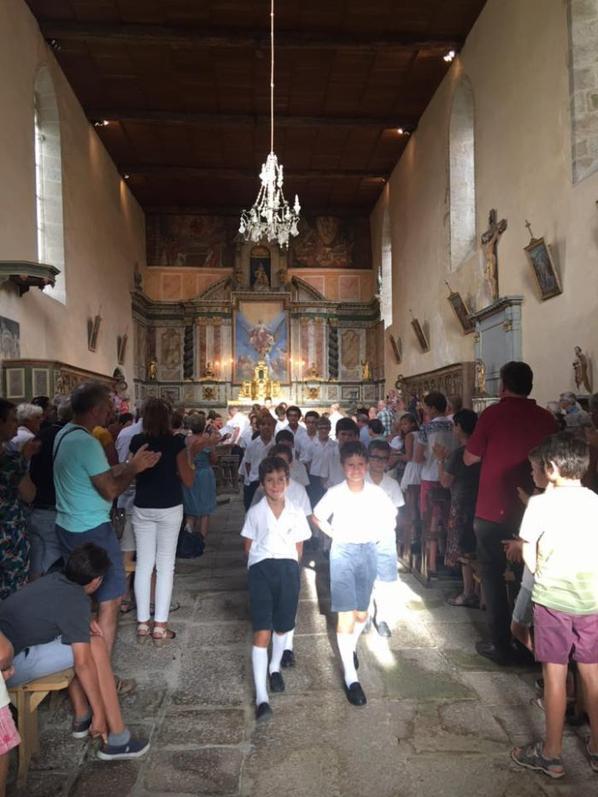 Mortemart , église comble et ambiance assurée