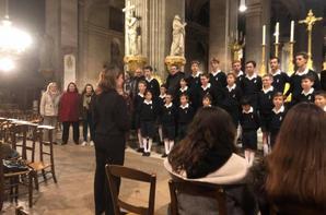 Très beau concert pour clôturer la journée Pueri Cantores par les PCDF