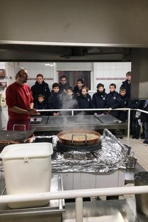 Visite ce matin à la confiserie des Hautes Vosges à Plainfaing (1/2)
