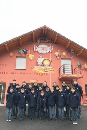 Visite ce matin à la confiserie des Hautes Vosges à Plainfaing (2/2)