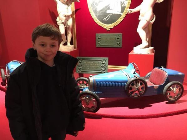 Visite ce matin à Mulhouse du musée de l'automobile (1/2)