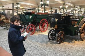 Visite ce matin à Mulhouse du musée de l'automobile (2/2)