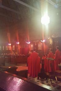 Les voix des PCDF se sont élevées dans la voûte de l'église d'Illiers Combray là où Proust vécu sa madeleine
