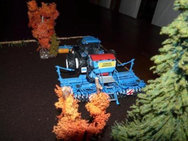 petite réalisation diorama agricole